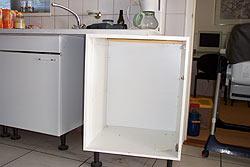 Inbouw kast voor koelkast of vaatwasser